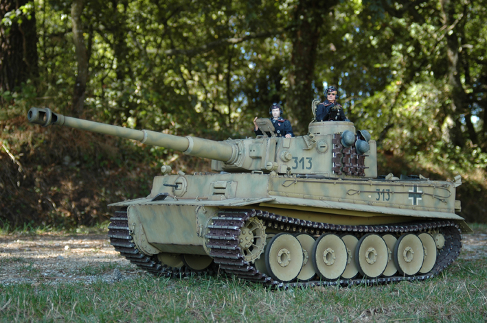 Tigre I en acción