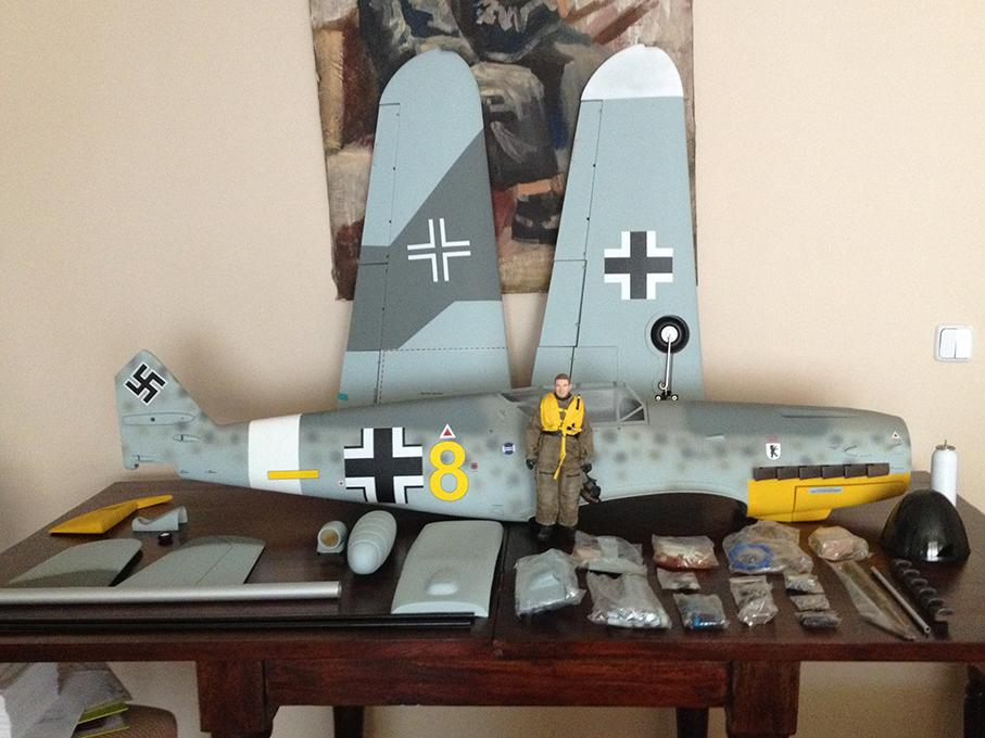 Vista general del Me Bf 109F