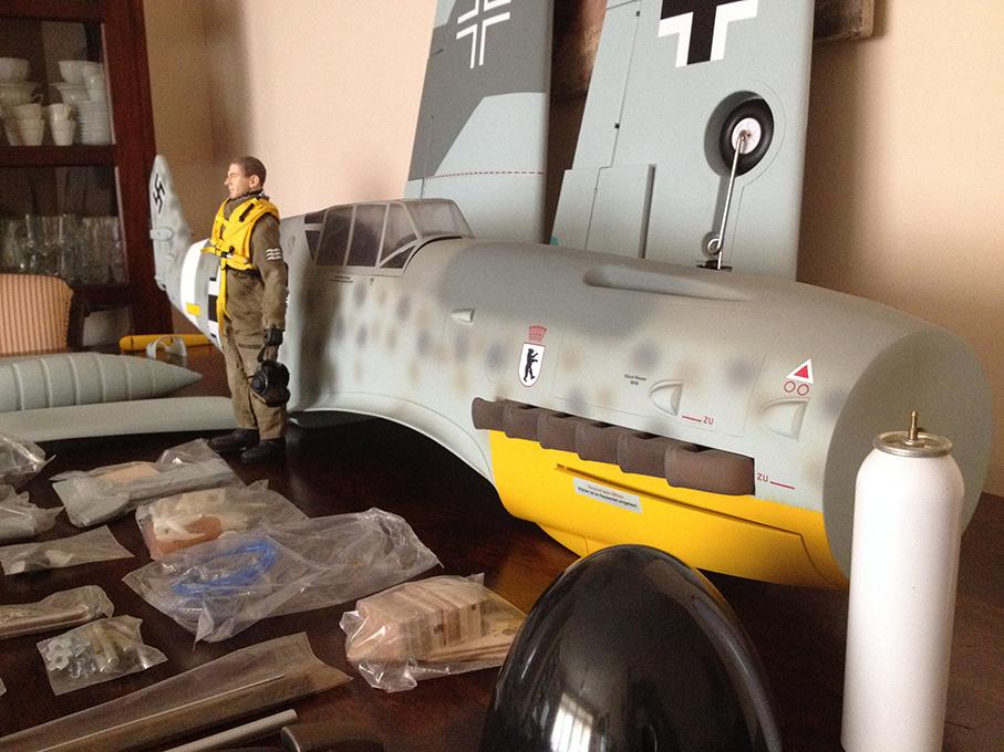 Delantera lateral del Me Bf 109F