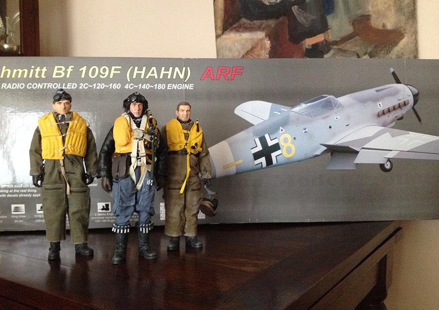 Presentación del Me Bf 109F