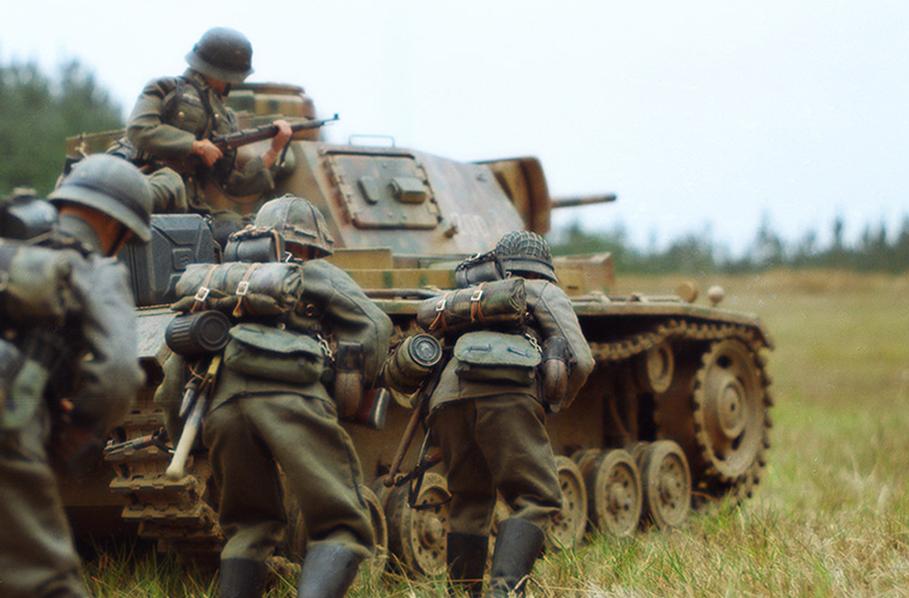 Panzer III en el frente ruso