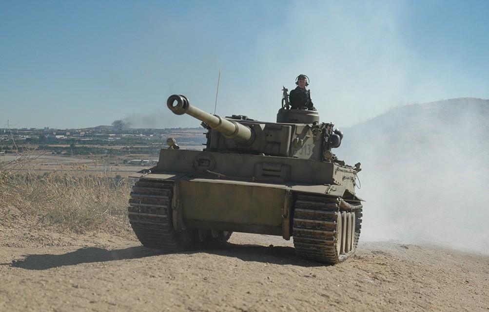 Tigre I en marcha